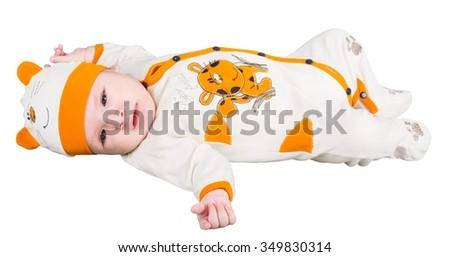 Diaper. - stock photo