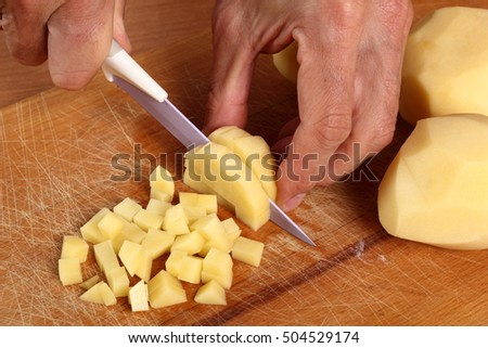 Dicing Potatoes