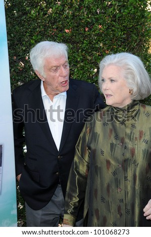 "Dick Van Dyke and Sally Ann Howes  at the ""Chitty Chitty Bang Bang"" Los Angeles Special Screening and Blu-Ray Release Party, Pacific Theaters, Los Angeles, CA. 10-30-10"