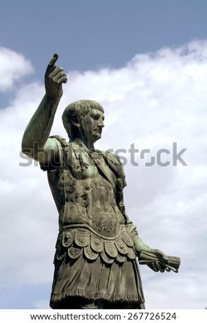 Dictator in Rome - stock photo
