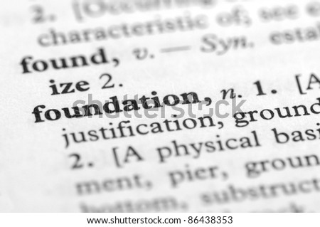 Dictionary Series - Foundation