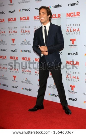 Diego Boneta at the 2013 NCLR ALMA Awards Press Room, Pasadena Civic Auditorium, Pasadena, CA 09-27-13