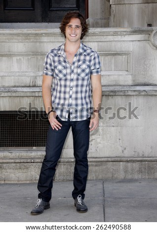 Diego Boneta at the Variety's 6th Annual Power Of Youth held at the Paramount Studios in Hollywood on September 15, 2012.  - stock photo