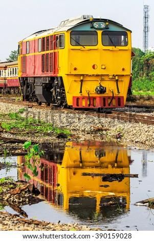 Diesel-Hydraulic Locomotive - stock photo
