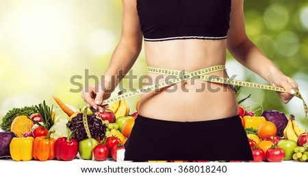 Diet. - stock photo