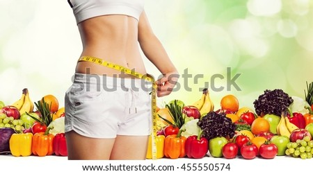 Diet. - stock photo