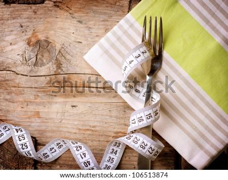 Diet. Dieting Concept. Diet Menu - stock photo