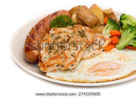 Diet food, Clean Eating, Breakfast - stock photo