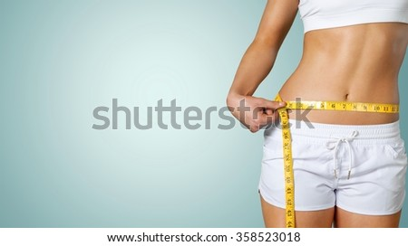 Dieting. - stock photo