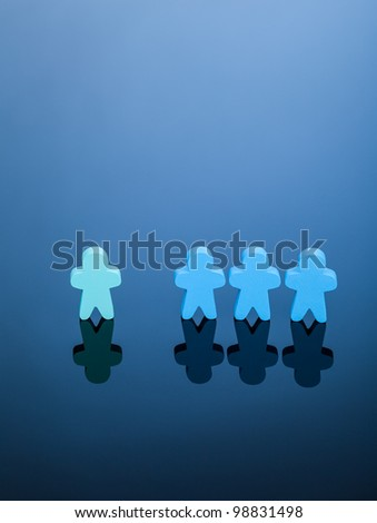Different - stock photo