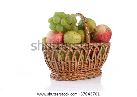 different fresh vegetable on white background close up