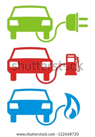 Different Fuel - stock photo