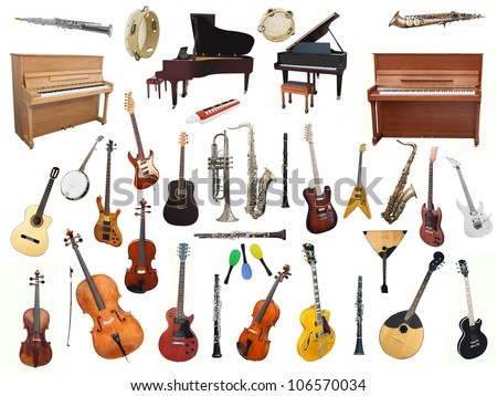Musical Instruments Stock Images, Royalty-Free Images & Vectors ...