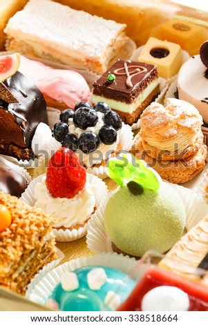 different pastries