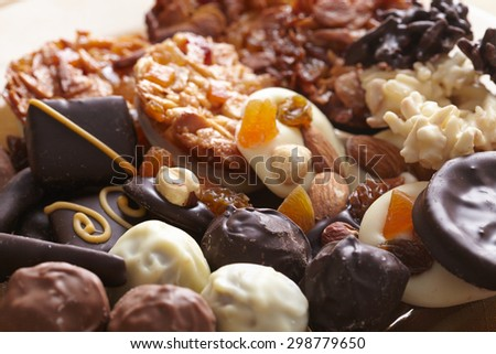 different sweets - stock photo