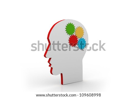 Different thinking of an idea - stock photo