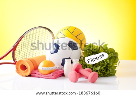 Different tools for fitness