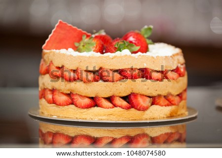 Different Types Cakes Pastry Shop Stock Photo Edit Now Shutterstock