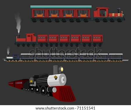 Different types of Trains - Locomotive