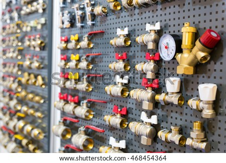Different valves