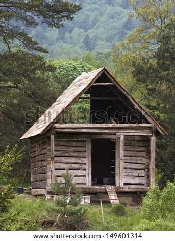 different view of buildings at village - stock photo