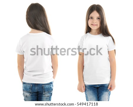 White Tshirt On Young Man Isolated Stock Photo 167324774 ...