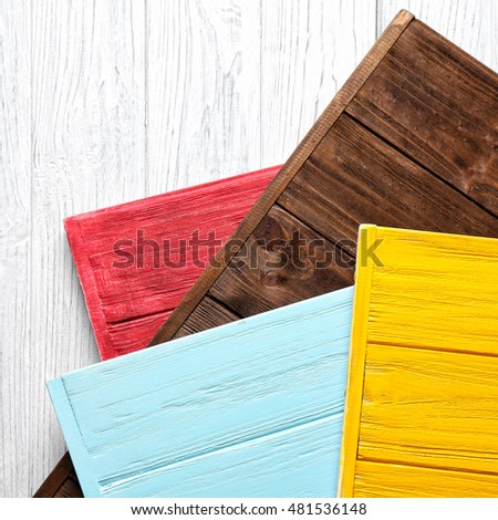 Different wooden textured backgrounds