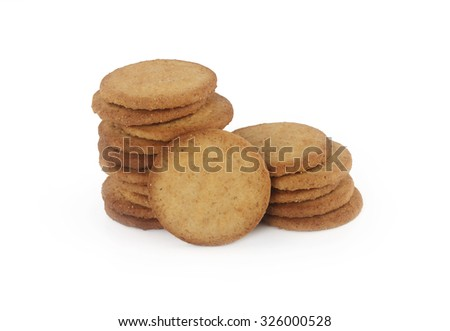 Digestive Biscuits - stock photo