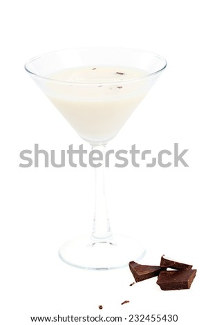digestive cocktail - stock photo