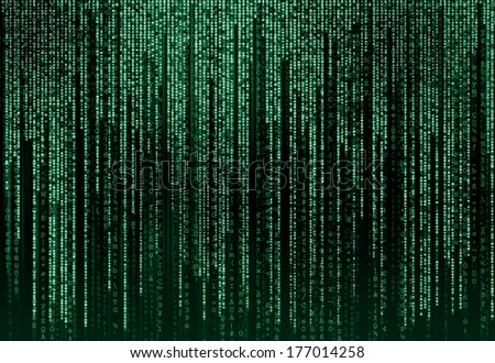 Digital Abstract background - stock photo