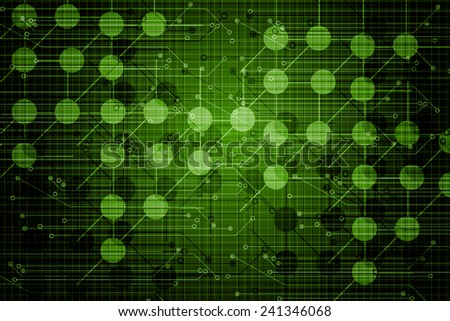 Digital Abstract Business background