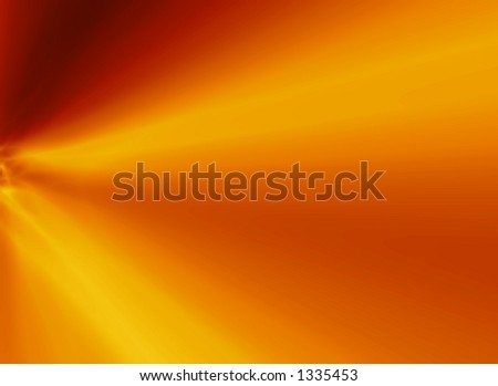 Digital abstract fire - stock photo