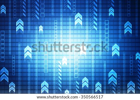 Digital Abstrct background