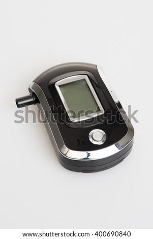 Digital Alcohol Breath Tester Breathalyzer Analyzer Detector - stock photo