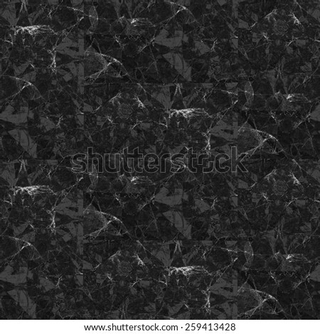 Digital Art, Black Marble Texture - stock photo