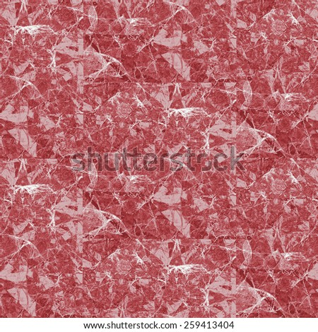 Digital Art, Red Marble Texture - stock photo
