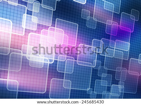 Digital background image presenting modern business concepts - stock photo