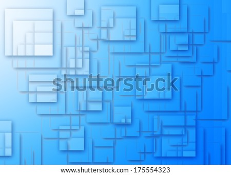 Digital background with squares