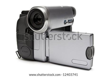 Digital Camcorder - stock photo