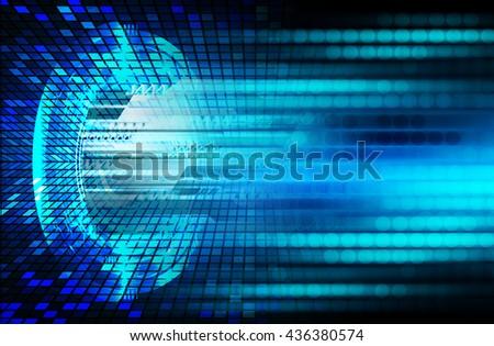 digital data background,pink abstract light hi tech pixel internet technology, Cyber security concept, Cyber digital computer background,cyber data Technology,computer security. - stock photo