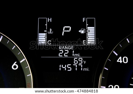 digital fuel gauge