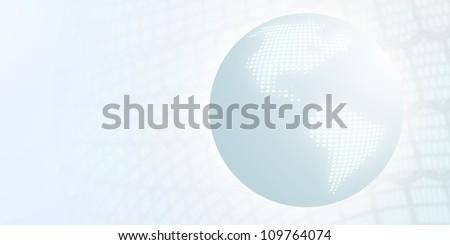 Digital Globe - stock photo