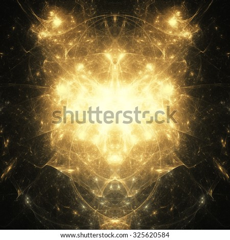 Digital Illustration of a Fractal