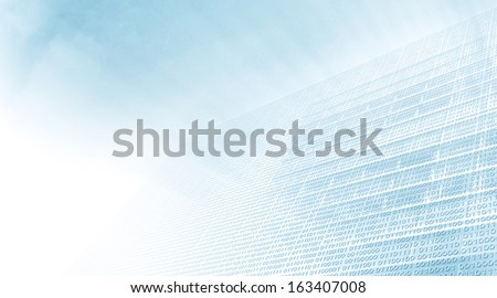 Digital Infrastructure - stock photo