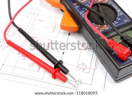 Digital multimeter and electronic components