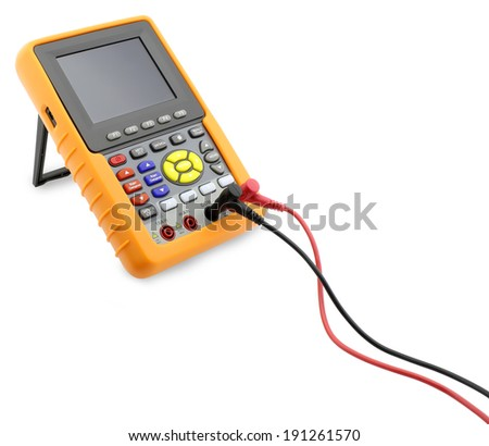 Digital Multimeter - Stock Image - stock photo