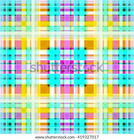Digital Painting Beautiful Abstract Famous Traditional Thai Male Loincloth Patterns in Colorful Vibrant Bright Pastel Colors Background