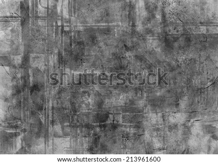 digital painting of black and white  texture background  - stock photo