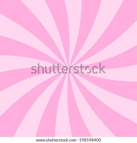 Digital Paper Scrapbook Pink Sun Rays Stock Illustration 198598400