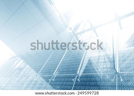 Digital Scree - stock photo